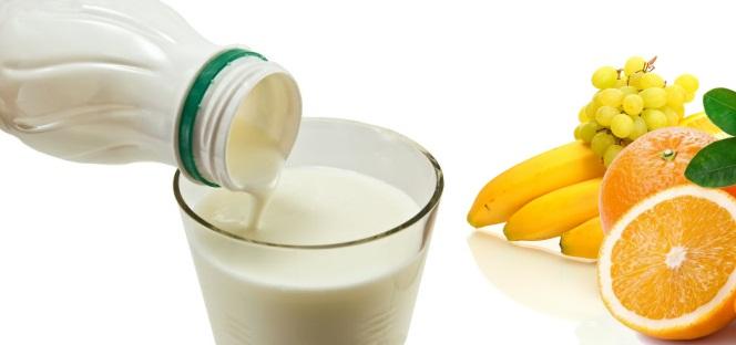 Йогурт и фрукты. Сорбент Литосорб