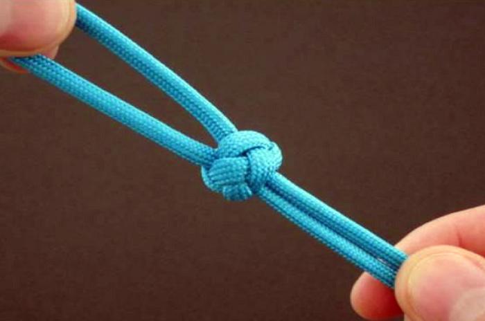 Вязание бриллиантового узла (diamond knot) - ПАРАКОРД ... Бриллиантовый Узел