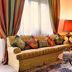 Декоративные подушки в тон к шторам
